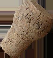 bouchon de liège, forme spéciale